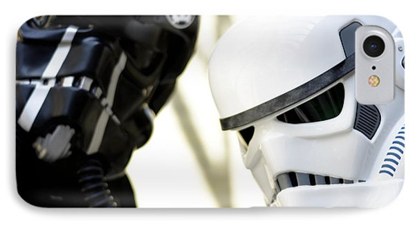 Star Wars Stormtrooper Closeup IPhone Case by Tommytechno Sweden