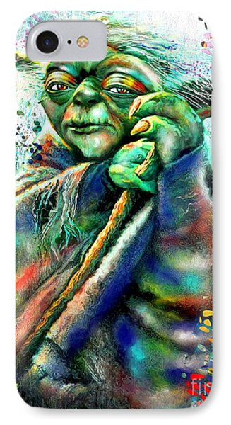 Star Wars Yoda IPhone Case by Daniel Janda