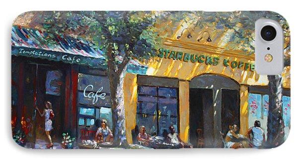 Starbucks Hangout Nyack Ny IPhone Case