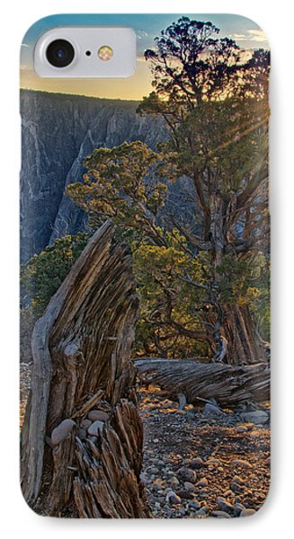 Starburst At Painted Wall IPhone Case by Eric Rundle