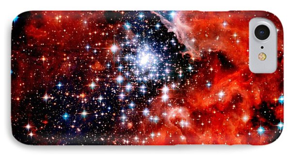 Starburst Cluster Phone Case by Benjamin Yeager