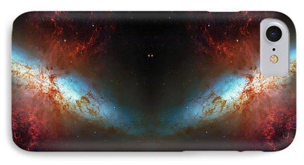 Starburst Galaxy Reflection IPhone Case by Jennifer Rondinelli Reilly - Fine Art Photography