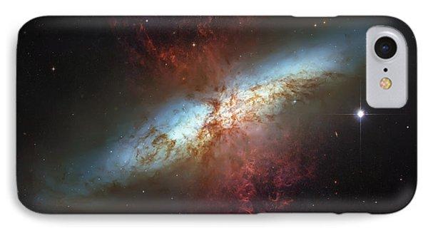 Starburst Nebula IPhone Case by Jennifer Rondinelli Reilly - Fine Art Photography