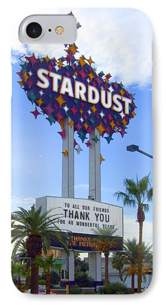 Stardust Sign Phone Case by Mike McGlothlen