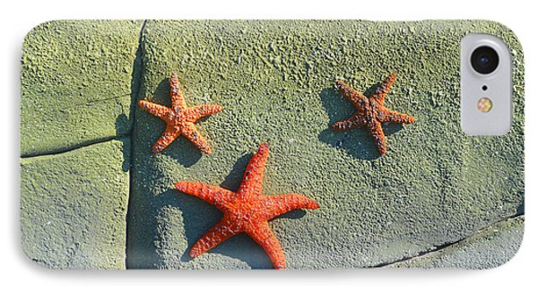 Starfish On The Rocks IPhone Case by Luther Fine Art