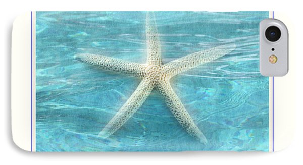Starfish Underwater IPhone Case by Linda Olsen
