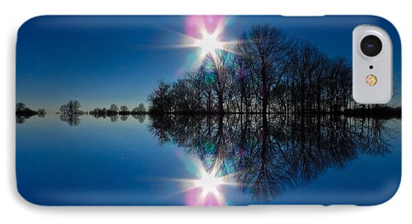 Starflection IPhone Case by Nick Kirby