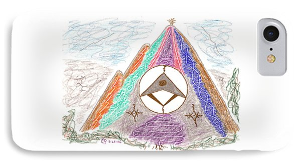Stargate IPhone Case by Mark David Gerson