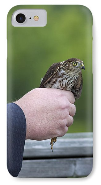 Staring Back IPhone Case by Phill Doherty