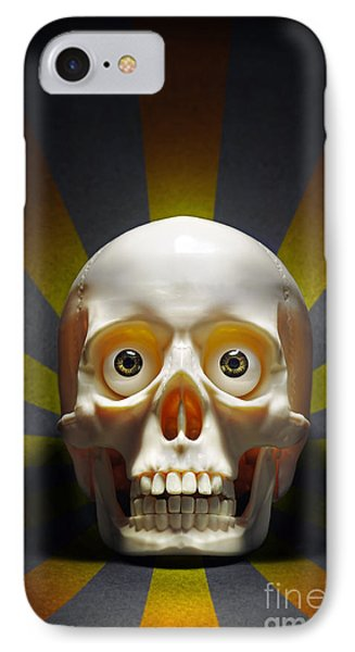 Staring Skull IPhone Case