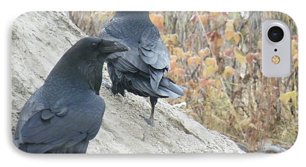 IPhone Case featuring the photograph Stark Raven by Brian Boyle