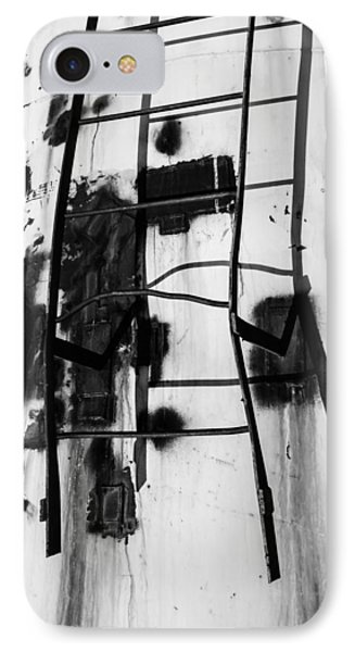 IPhone Case featuring the photograph Stark Reach - Abstract by Steven Milner
