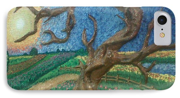 Stark Tree. Phone Case by Geetanjali Kapoor