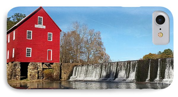 Starr's Mill In Senioa Georgia IPhone Case by Donna Brown