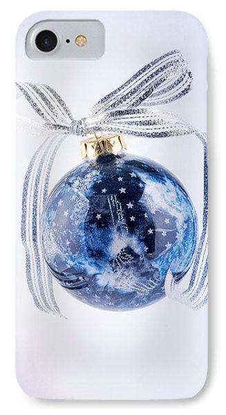 Christmas Ornament With Stars IPhone Case by Vizual Studio