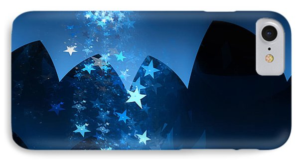 IPhone Case featuring the digital art Starry Night by GJ Blackman