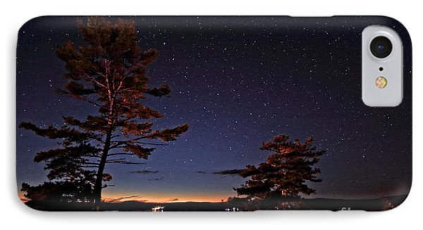 Starry Night In Northern Ontario IPhone Case by Charline Xia