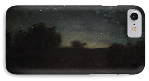 Starry Night IPhone Case by Jean-Francois Millet