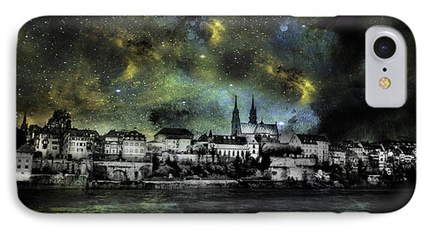 Starry Night Over Basel Switzerland IPhone Case