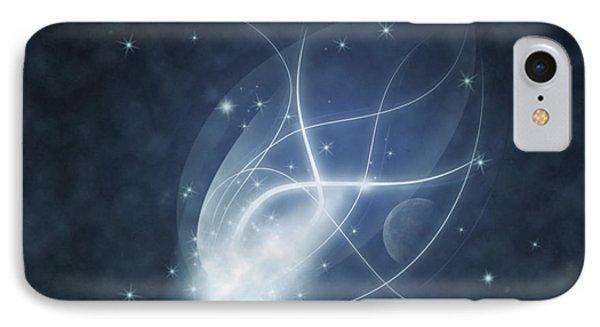 Starry Night Phone Case by Susan Leggett