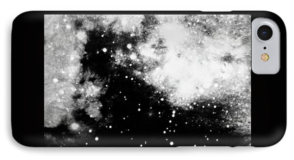 Stars And Cloud-like Forms In A Night Sky IPhone Case by Duane Michals