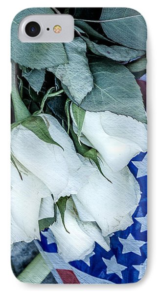 Stars And Roses Forever IPhone Case by Susan Cole Kelly Impressions