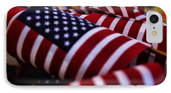 IPhone Case featuring the photograph Stars And Stripes by John S