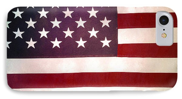 Stars And Stripes Phone Case by Les Cunliffe