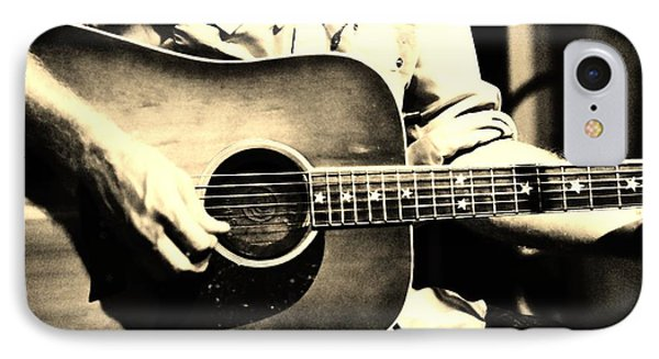 Stars N' Guitars IPhone Case by Lynda Dawson-Youngclaus