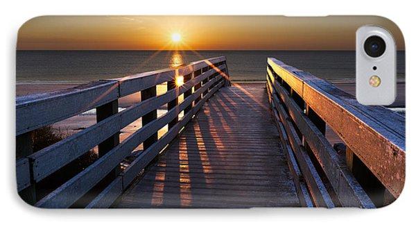 Stars On The Boardwalk Phone Case by Debra and Dave Vanderlaan