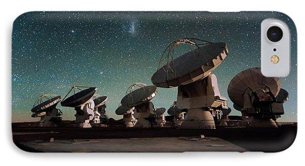 Stars Over Alma IPhone Case by Eso/c. Malin