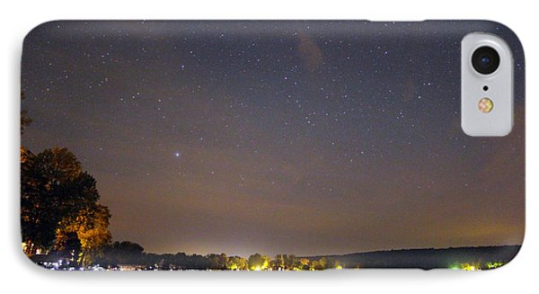 Stars Over Conesus IPhone Case by Richard Engelbrecht