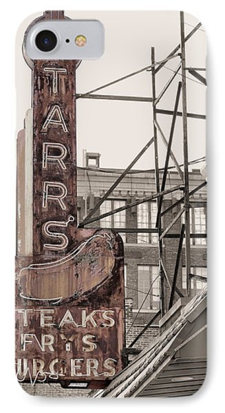 Stars Steaks Frys And Burgers IPhone Case by JC Findley
