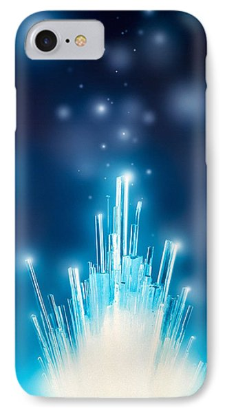 Stars With Trails Rising From Bright IPhone Case