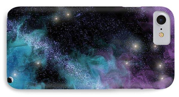 Starscape Nebula IPhone Case by Antony McAulay