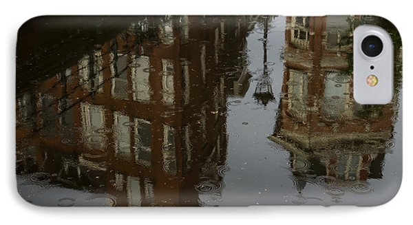 IPhone Case featuring the photograph Starting To Rain... by Georgia Mizuleva