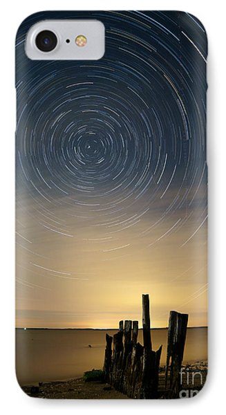 Startrails 2 Phone Case by Benjamin Reed
