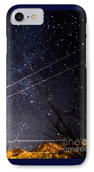 Stars Drunk On Lightpaint IPhone Case by Angela J Wright
