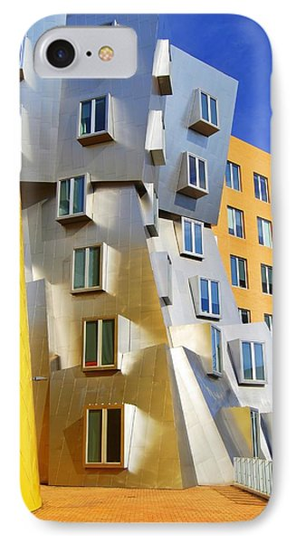 IPhone Case featuring the photograph Stata Building At M I T by Caroline Stella
