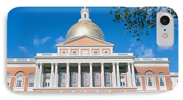State Capitol, Boston, Massacushetts IPhone Case by Panoramic Images
