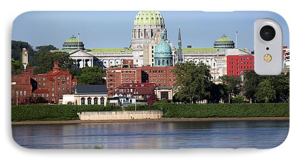 State Capitol Building Harrisburg Pennsylvania Phone Case by Bill Cobb
