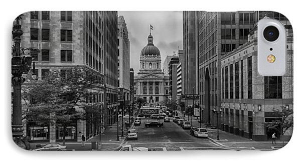 IPhone Case featuring the photograph State Capitol Building by Howard Salmon