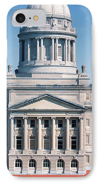 State Capitol Of Kentucky, Frankfort IPhone Case by Panoramic Images