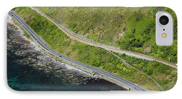 State Highway One And North Island Main IPhone Case