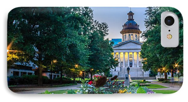 State House Garden IPhone Case by Rob Sellers