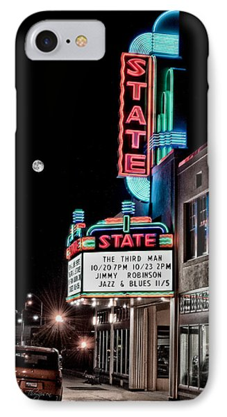 State Theater IPhone Case by Jim Thompson
