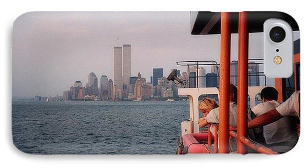 Staten Island Ferry View IPhone Case