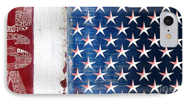 States Stars And Stripes 1 IPhone Case by Wendy Wilton