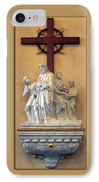 Station Of The Cross 01 Phone Case by Thomas Woolworth