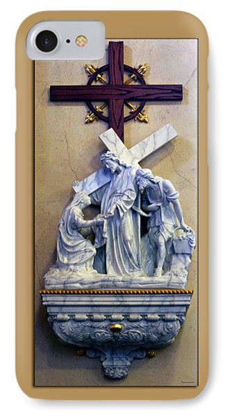 Station Of The Cross 06 Phone Case by Thomas Woolworth